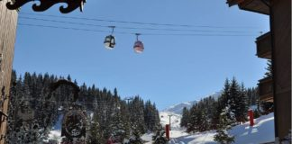 ski courchevel