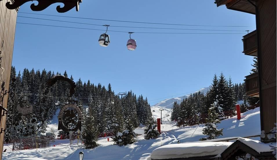 ski courchevel